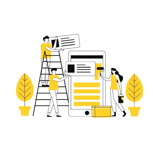 Контент для мобильных и web-приложений Поможем повысить ценность продукта с помощью полезного, вовлекающего контента. Создание дополнительных контент-сервисов позволяет увеличить частоту использования приложений, повысить лояльность клиентов, развивать интересные партнерские проекты и внедрять дополнительные схемы монетизации продуктов.
